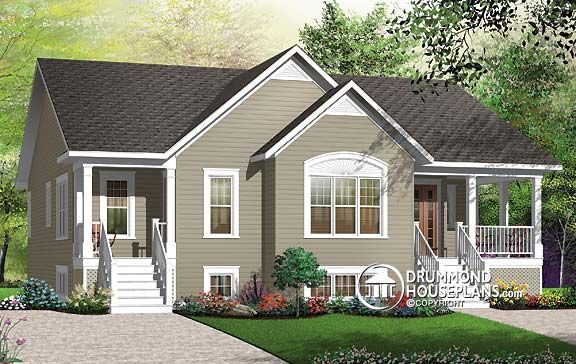 78 images about two family house plans on pinterest for Bi generation house plans