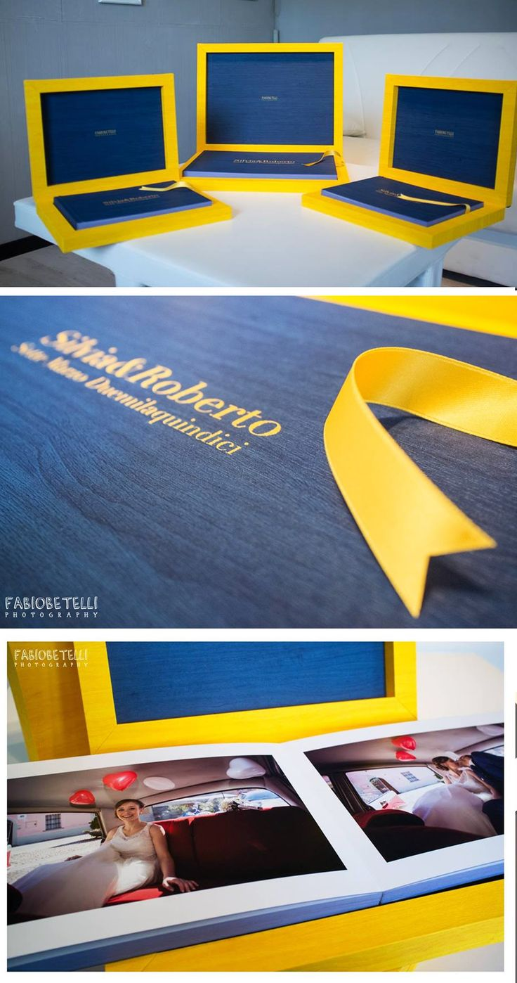 Youngbook in total Maple designed By the photographer Fabio Betelli, besides the main album, 13x18 + two 8x12 copies for the parents. #graphistudio #youngbook #weddingbook #weddingphotography http://www.graphistudio.com/home