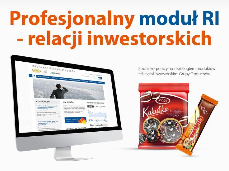 Grupa Otmuchów. Profesjonalny moduł RI - relacji inwestorskich.