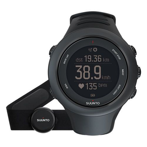 Suunto Ambit3 Sport Black SS020678000 GPS Watch with Heart Rate Monito