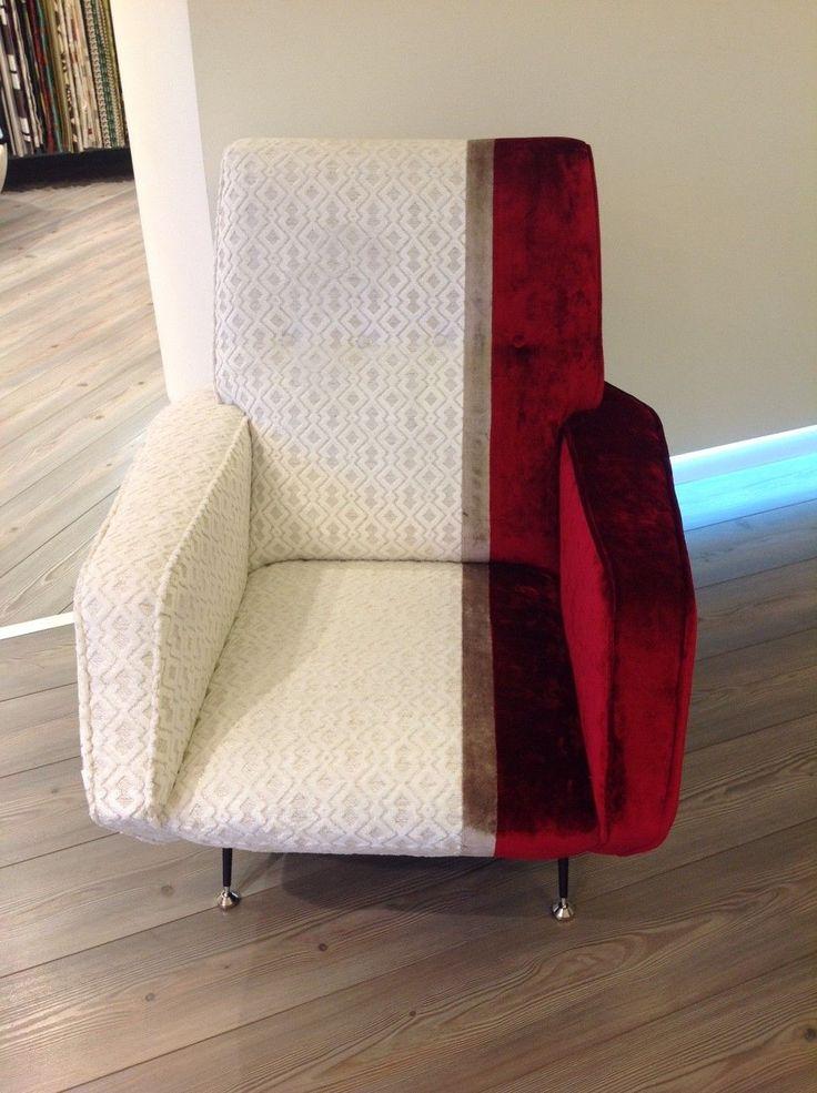 Terza ed ultima variante di Poltrona Rock, realizzata con i tessuti della collezione #TheVelvet.  Perfetta per ambienti moderni total white.  La poltrona è realizzata con i seguenti tessuti: - #Rock, Collezione The Velvet. - #Fatale , Collezione The Velvet.  Visita il nostro sito www.ctasrl.com   #chic #lavorazioneartigianale #madeinitaly #tessuti #interiordesign #tendaggi #textile #textiles #fabric #homedecor #homedesign #hometextile #decoration #DESIGN