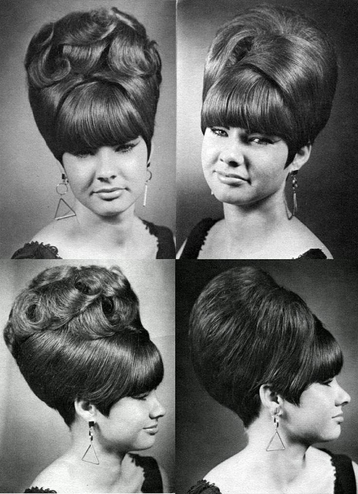 Todays hair inspiration the mighty beehive.
