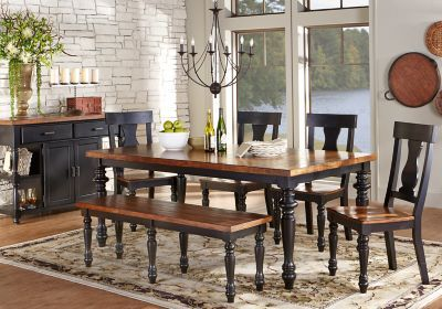 Hillside Cottage Black 5 Pc Dining Room . $699.99.  Find affordable Dining Room Sets for your home that will complement the rest of your furniture.#iSofa #roomstogo