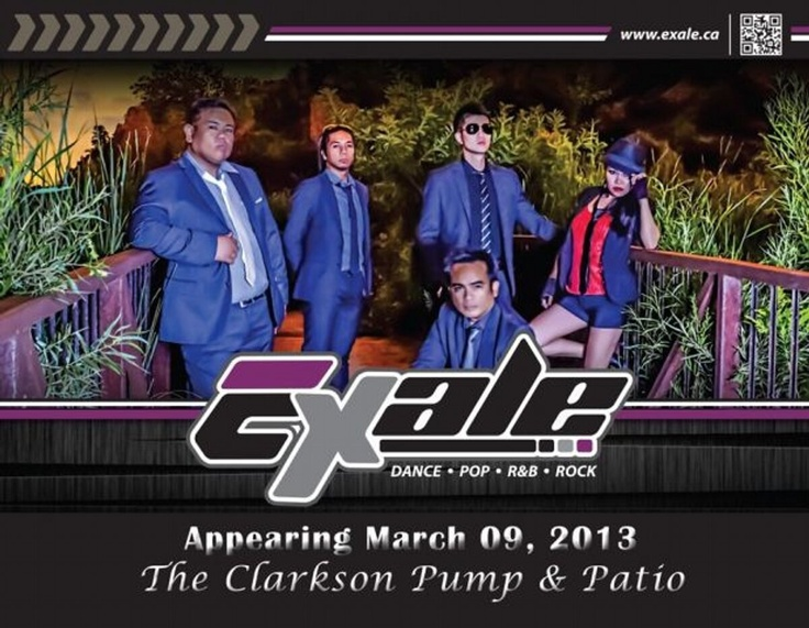March 9th at The Clarkson Pump