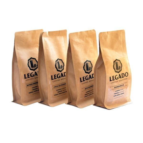 Legado 4x 125g Bag Coffee Bean Tasting Bundle