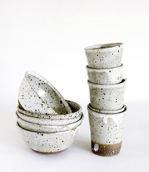 all tableware and ceramics (plates, cups, vases etc.) is handmade and a little bit rough?