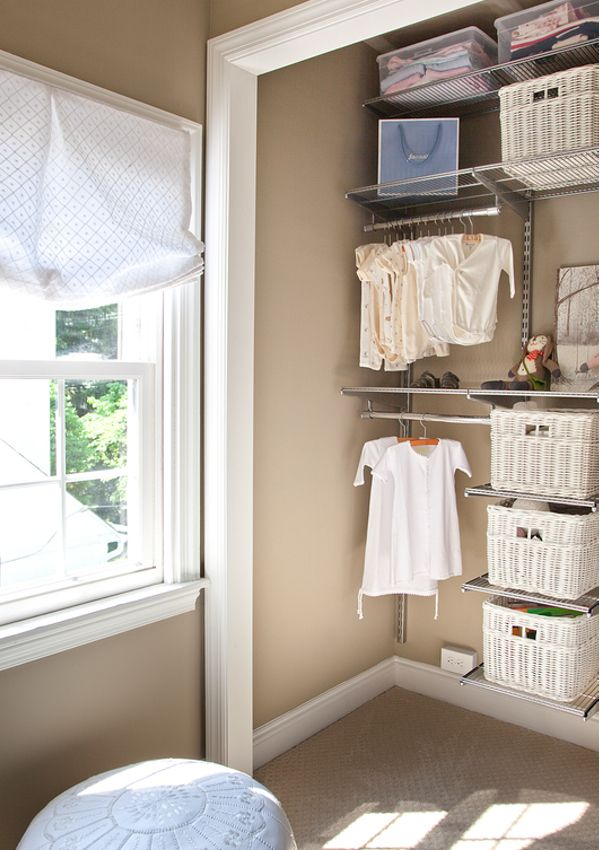 Awesome Nursery Closet, Thinking Of Using The Algot System From Ikea (white)