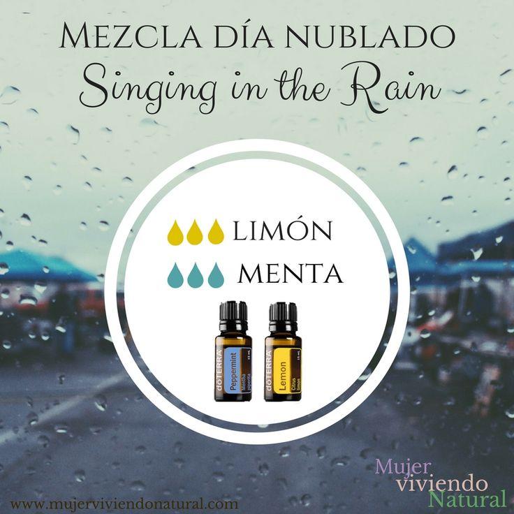 Mezcla de Aceites para que la lluvia no te ande bajoneando   #doterra #aceitesesenciales #dōterra #difusor #difusserblends