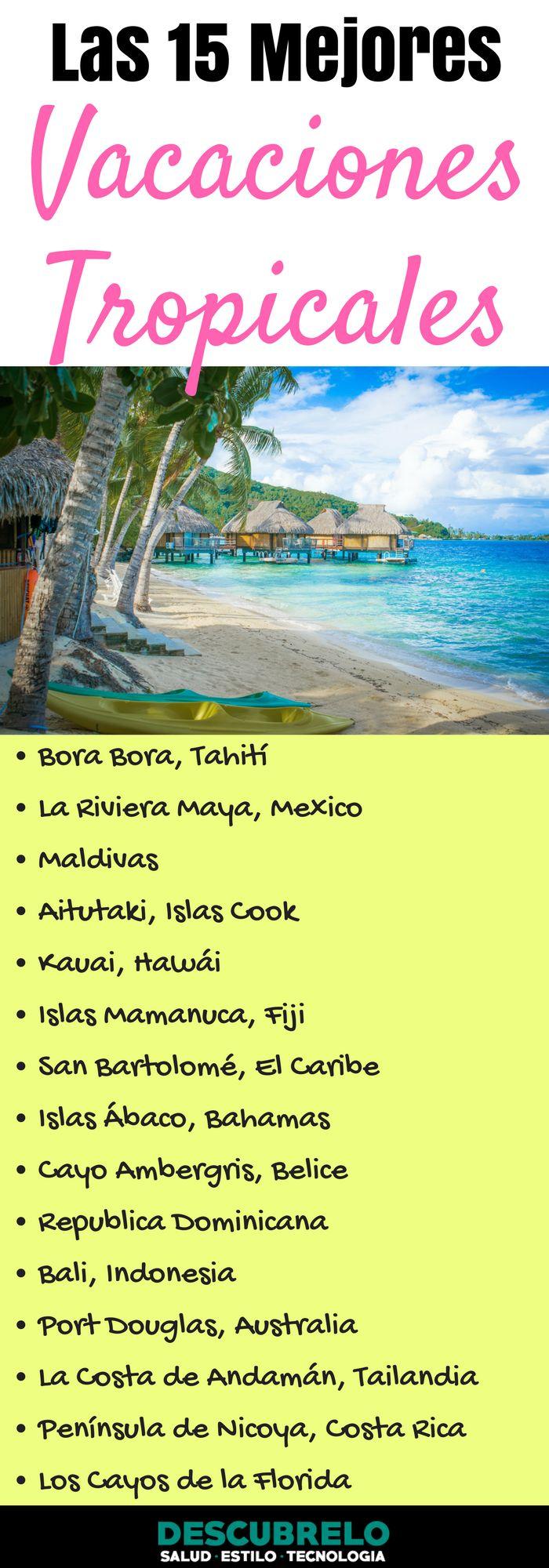 Playas de ensueño, suaves y cálidos mares, exuberantes paisajes, y brillo del sol sin fin: Estos son los principales ingredientes para unas ideales vacaciones tropicales.