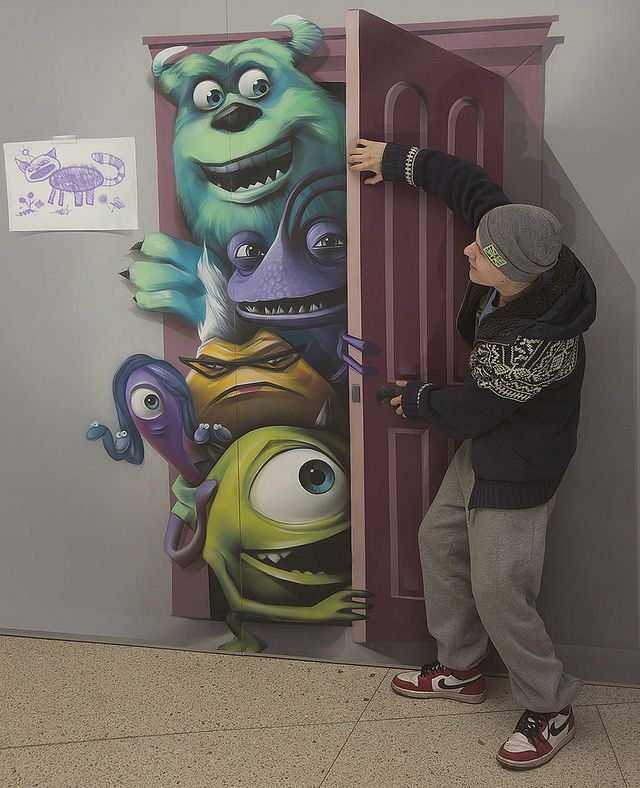 Clever 3-D art exhibit brings the cast of Monsters, Inc. to life · Great Job, Internet! · The A.V. Club