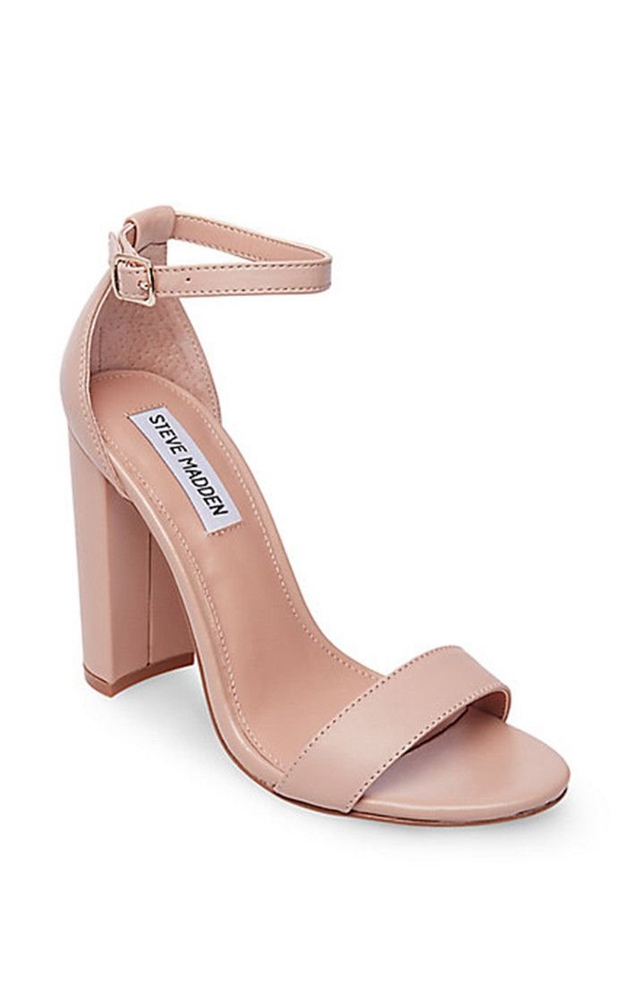 798690a0289 Steve Madden ~ Carrson Heels ~ Blush Leather