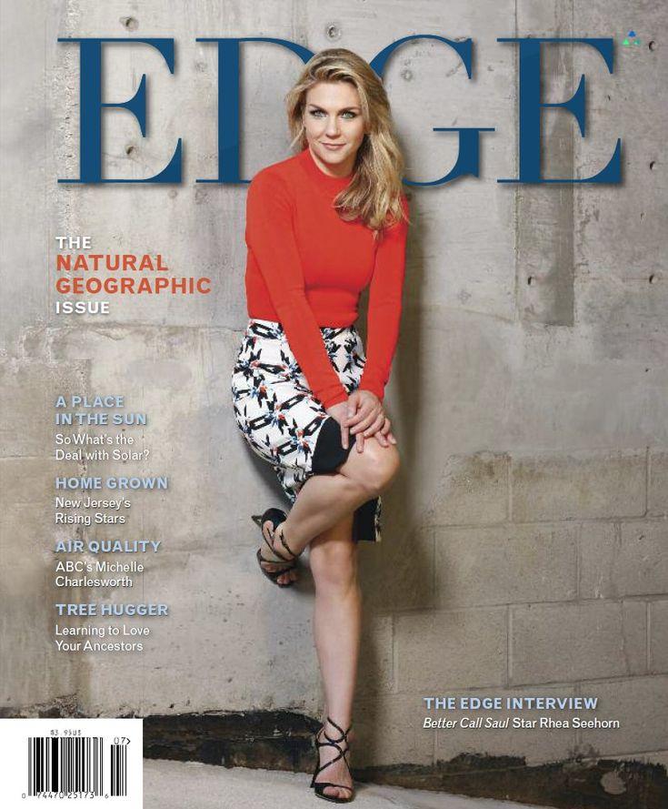 Rhea Seehorn - Edge Magazine (June/July 2016)