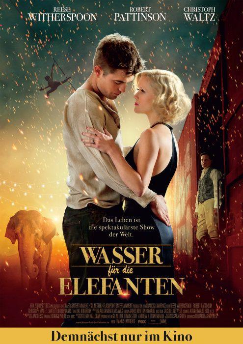 Poster zum Film: Wasser für die Elefanten