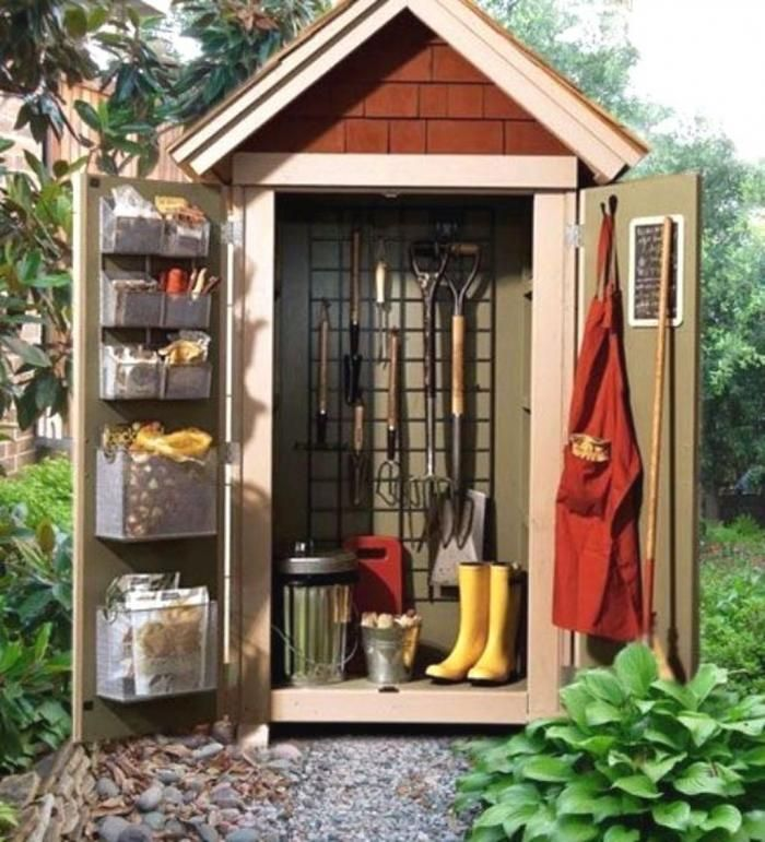 Diy Storage Shed Outdoor Sheds, Small Outdoor Storage Shed