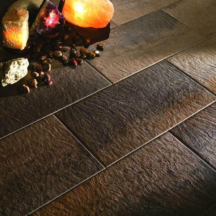 Italgraniti Pietra Di Vesale. Frostsikre gulvfliser i 6 herlige farger med tilhørende mosaikk.