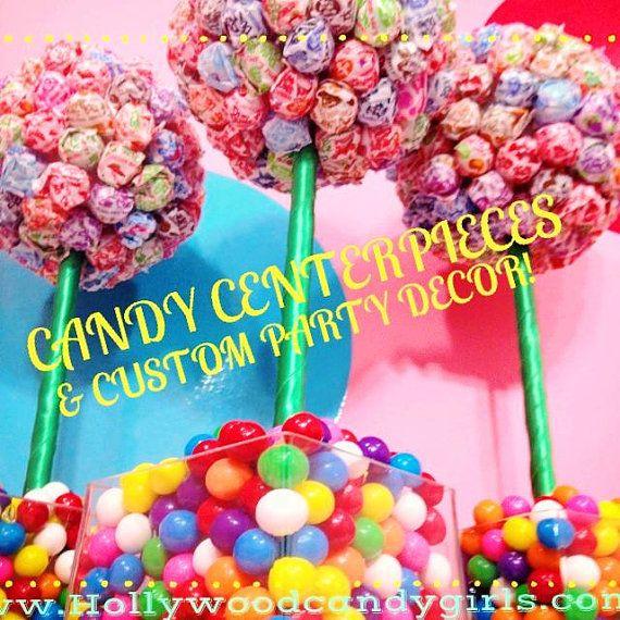 Arco iris Dum Dum chicle bola Candy Land pieza central