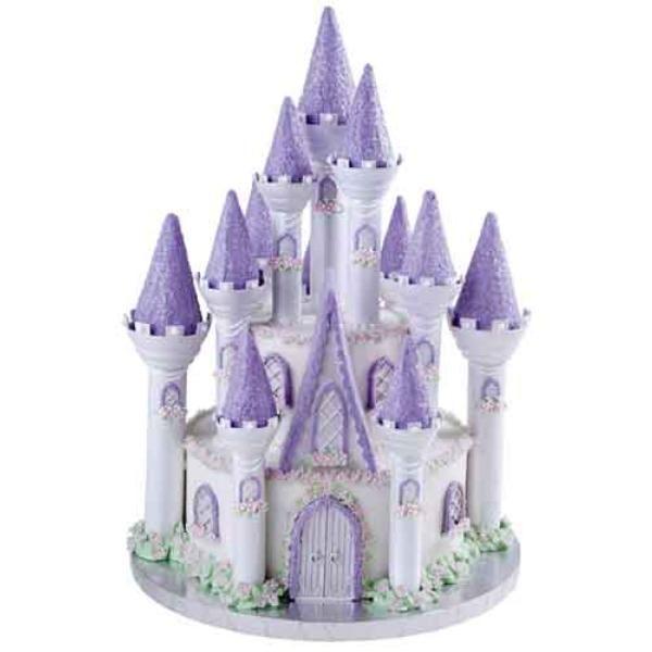 Gateau chateau de princesse anniversaire
