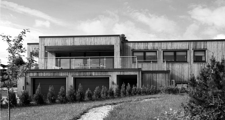 Trendy træhus i Drammen | JKE Design