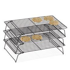 Awesome space saving baking lovliness: a bridal shower gift from Jess Resnick. Wilton® Indulgence® Three-Tier Cooling Rack.