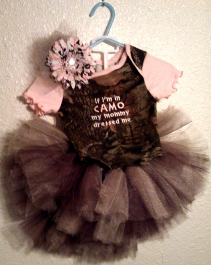 Baby Girl Camo Clothes Simple 329 Best Camo Baby Stuff Images On Pinterest  Baby Girl Camo Review