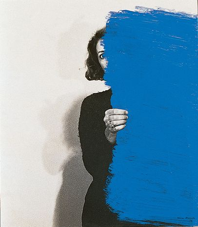 Helena Almeida, Pintura Habitada (Inhabited Painting), 1976