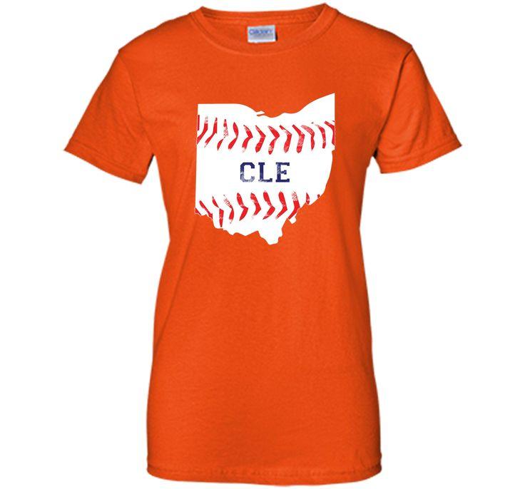 Distressed Cleveland Baseball Shirt Cleveland Ohio T-Shirt