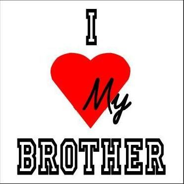 He's my brother in law but hes amazing. hes the best brotheer ever<3
