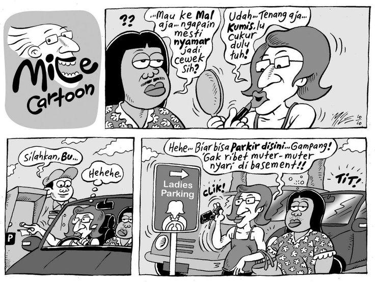 Mice Cartoon, Kompas 2010: Ladies Parking
