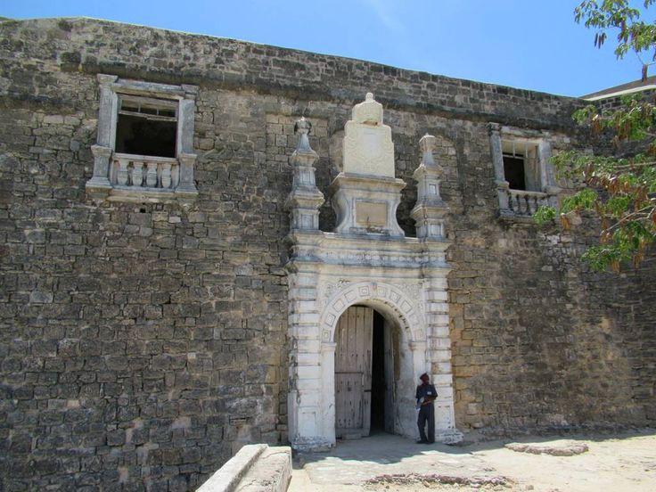 Access to the 16th century Fortaleza de São Sebastião on Mozambique Island is through this entrance.