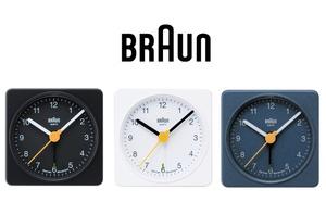 BRAUN CLOCK.