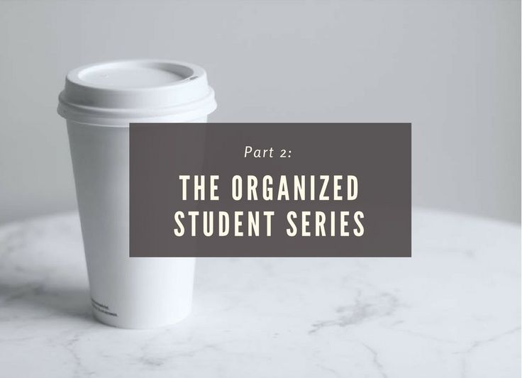 The organized student is back! With the winter break right around the corner, and the finals session right after it (*sad face*), this is the best time to talk about productivity and organization again.