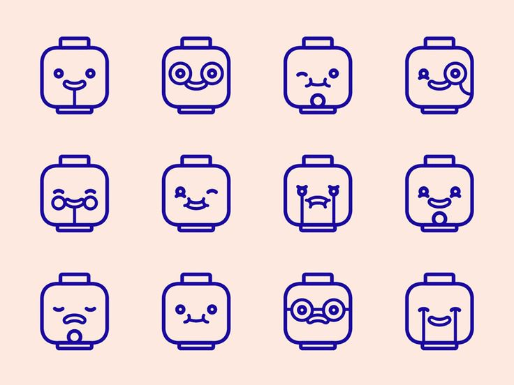 Currently working on a personal project. Starting off with a few cute lego emoticons.  Thanks to rafa san emeterio bombin for inspiring me with his awesome style of illustration.  What do you guys ...