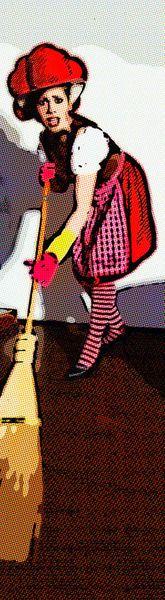 'Frühjahrsputz' von Gregor Luschnat bei artflakes.com als Poster oder Kunstdruck $16.63