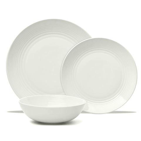 Royal Doulton - Gordon Ramsay White Maze Dinner Set 12pce
