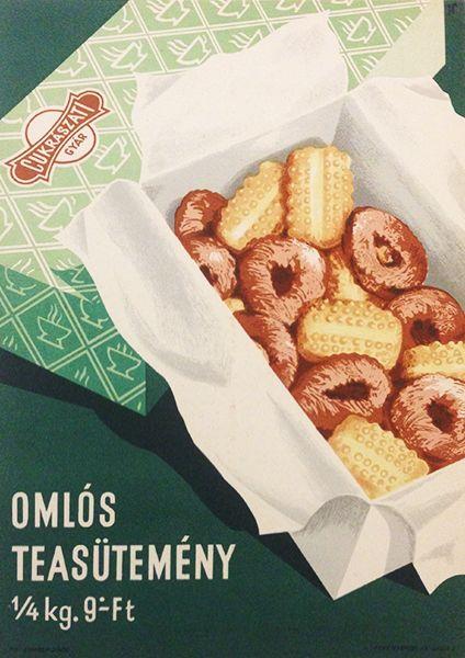 Shortbread / Omlós teasütemény 1950s