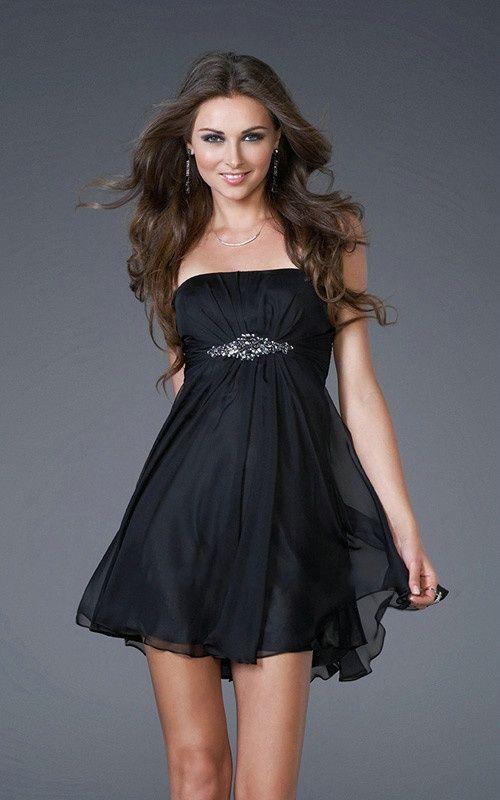 Vestidos para festa de casamento   Vestidos de Fiesta Cortos   Black short  formal dresses
