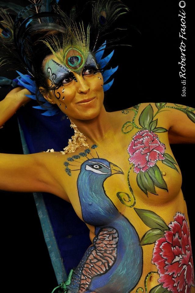 Oriental bodypainting 2011  2° place