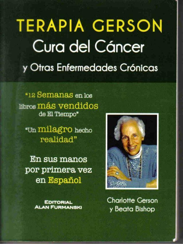 Libro completo en español de la Terapia Gerson