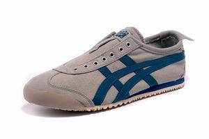 Onitsuka Tiger Mexico 66 Slip On Mens Shoes Grey Blue