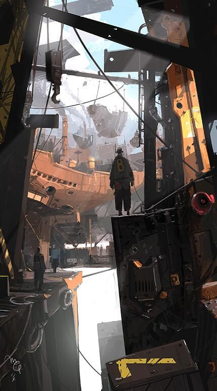 The destruction left by the mischievous machines was, in a way, inspiring. // By Ian McQue (ianmcque) on Twieer