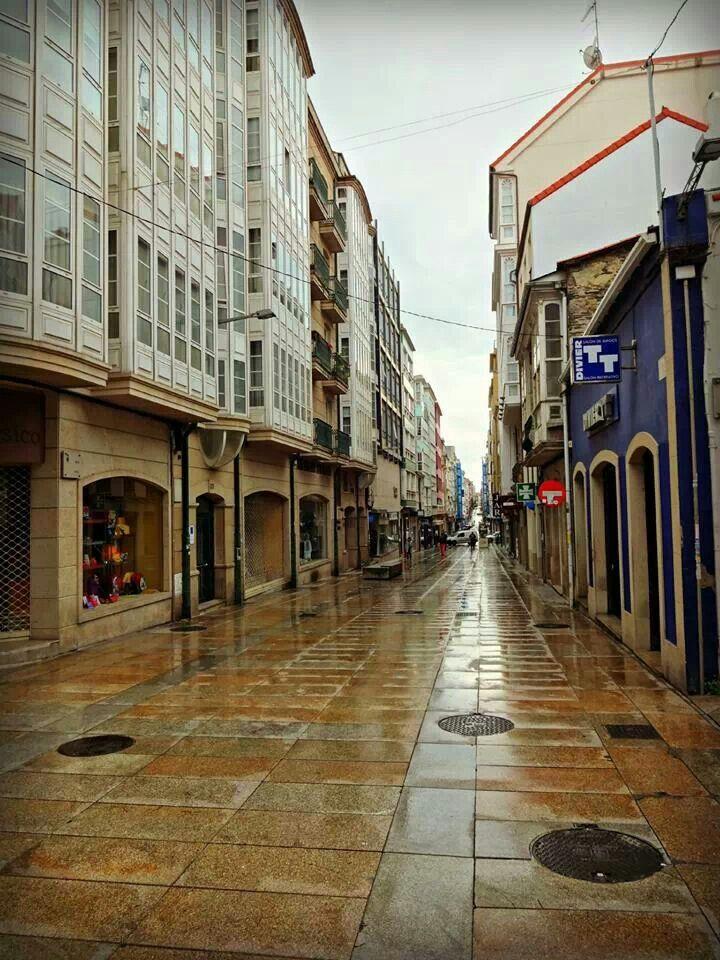 Calle Real.  Ferrol