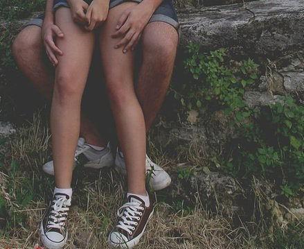 Couple - legs