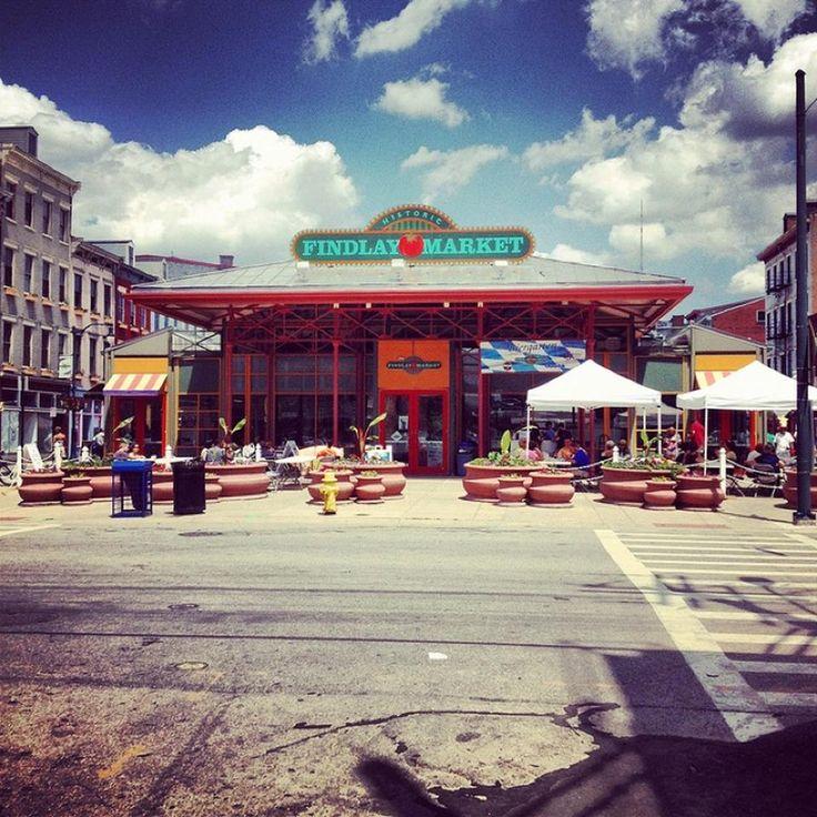 Findlay Market - Over-The Rhine - Cincinnati, OH