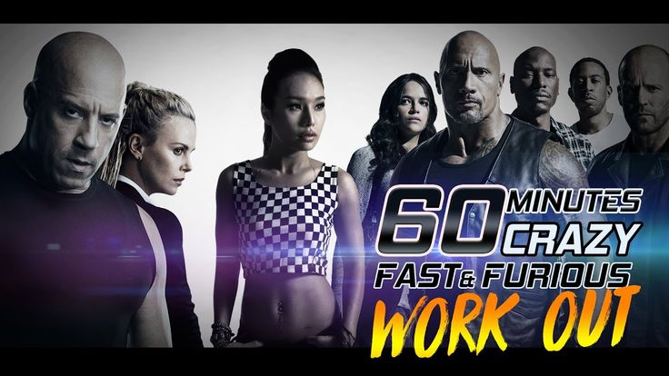 👙 60 Mins CRAZY Fast and Furious Dance Workout for weight loss | Burn 75...