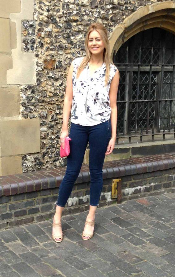 Win a pair of J Brand Jeans! Repin if this is your favourite look. Competition starts on 20th March 2014 and ends at midnight on the 26th March 2014.