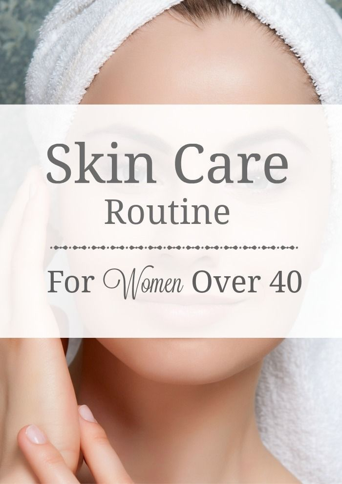 Hautpflegeprogramm für Frauen über 40 (PM – Trends