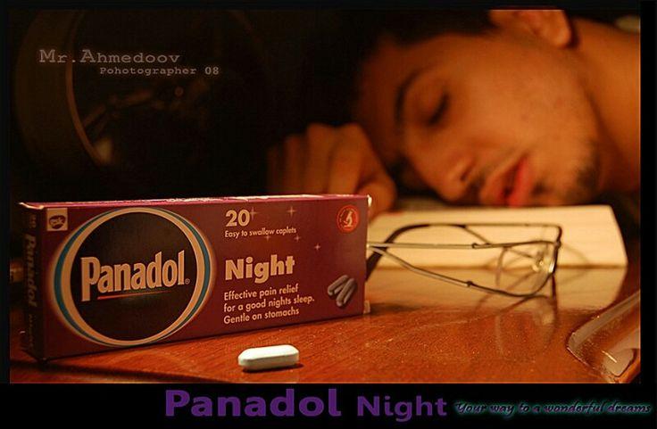 Me yesterday panadol sleep sick