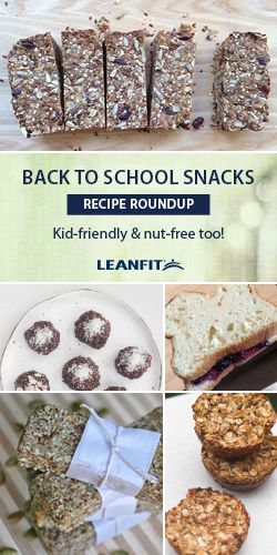We've compiled a roundup of recipes full of healthy, nut-free and protein-rich recipes, just in time for Back to School season! We know that parents receive very particular lists of what their child cannot bring in their school lunches. With nuts being a huge red flag in schools, it makes it difficult for parents to grocery shop for the right snacks to pack.
