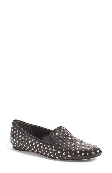 Alexander McQueen Studded Loafer (Women) available at #Nordstrom