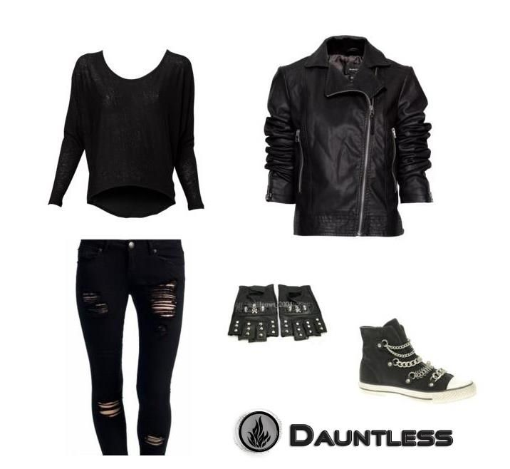 Dauntless clothes from Divergent. Can't wait until it comes out!